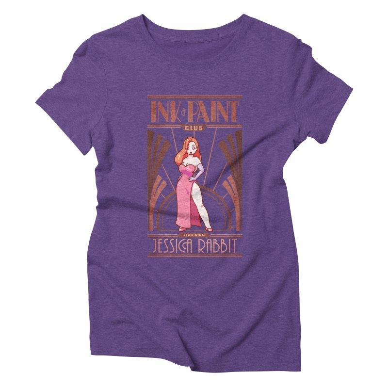 Ink & Paint Club Women's Triblend T-Shirt by Randy van der Vlag's Shop