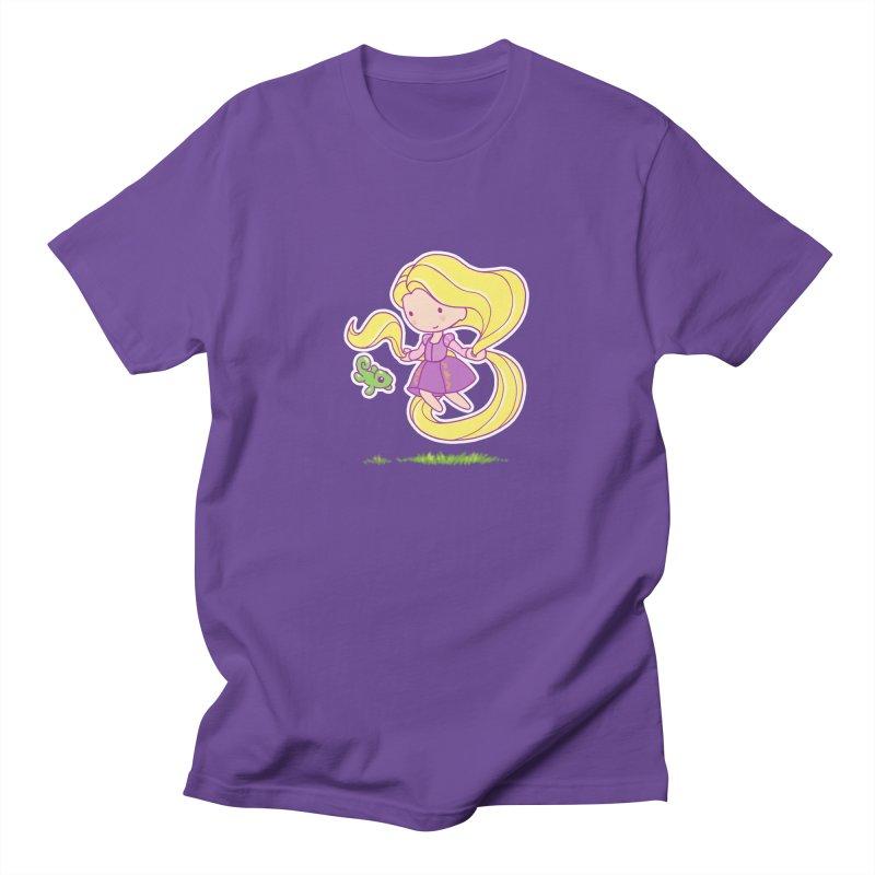 Little Rapunzel Men's Regular T-Shirt by Randy van der Vlag's Shop
