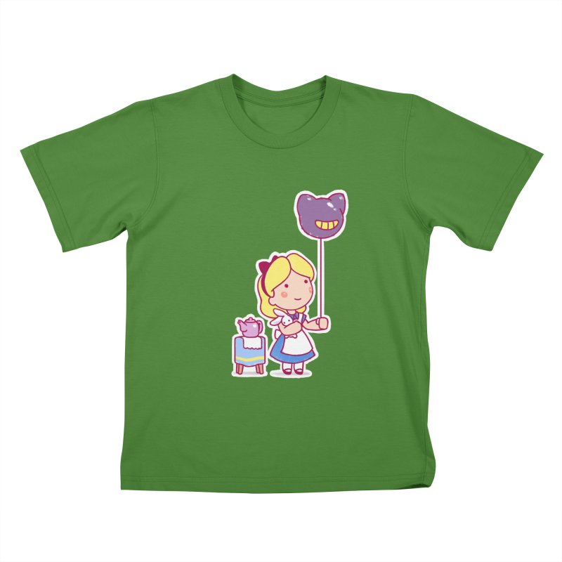 Little Alice Kids T-shirt by Randy van der Vlag's Shop