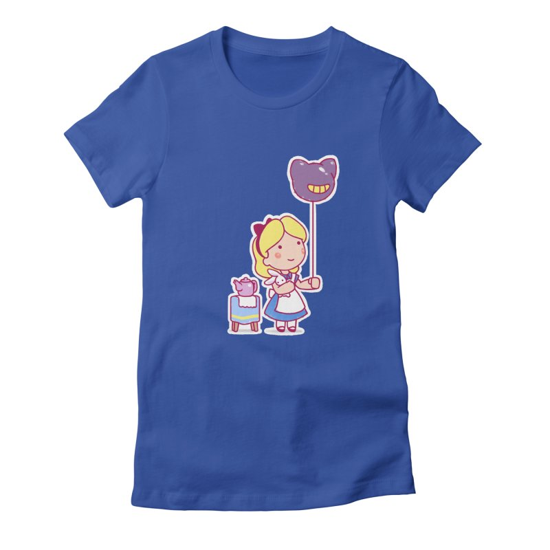Little Alice Women's Fitted T-Shirt by Randy van der Vlag's Shop