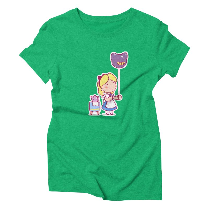 Little Alice Women's Triblend T-Shirt by Randy van der Vlag's Shop