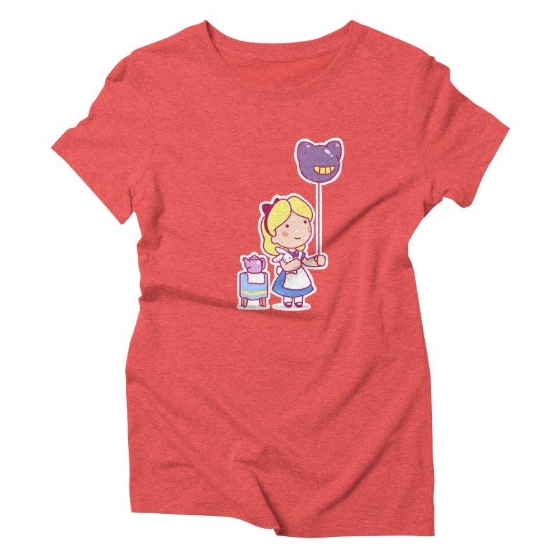 Little Alice Women's Triblend T-Shirt by Randy van der Vlag's Shop