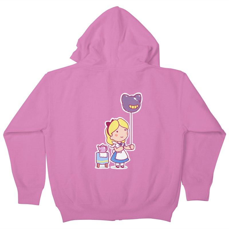 Little Alice Kids Zip-Up Hoody by Randy van der Vlag's Shop