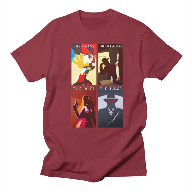 Who Set Up The Rabbit Men's T-Shirt by Randy van der Vlag's Shop