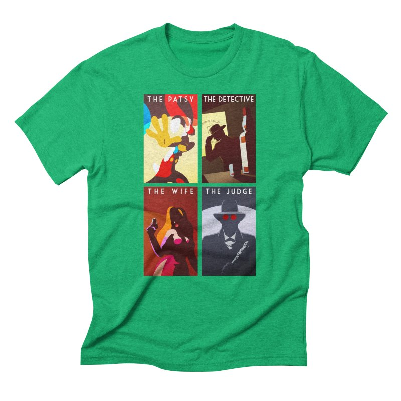 Who Set Up The Rabbit Men's Triblend T-shirt by Randy van der Vlag's Shop