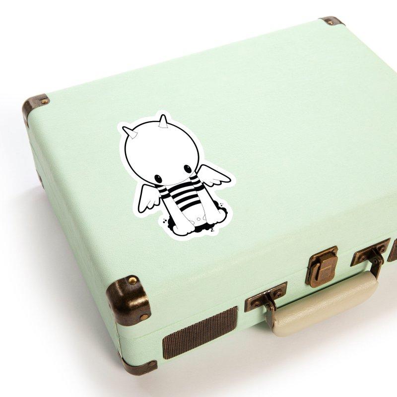 LITTLE DEMON Accessories Sticker by NOMAKU