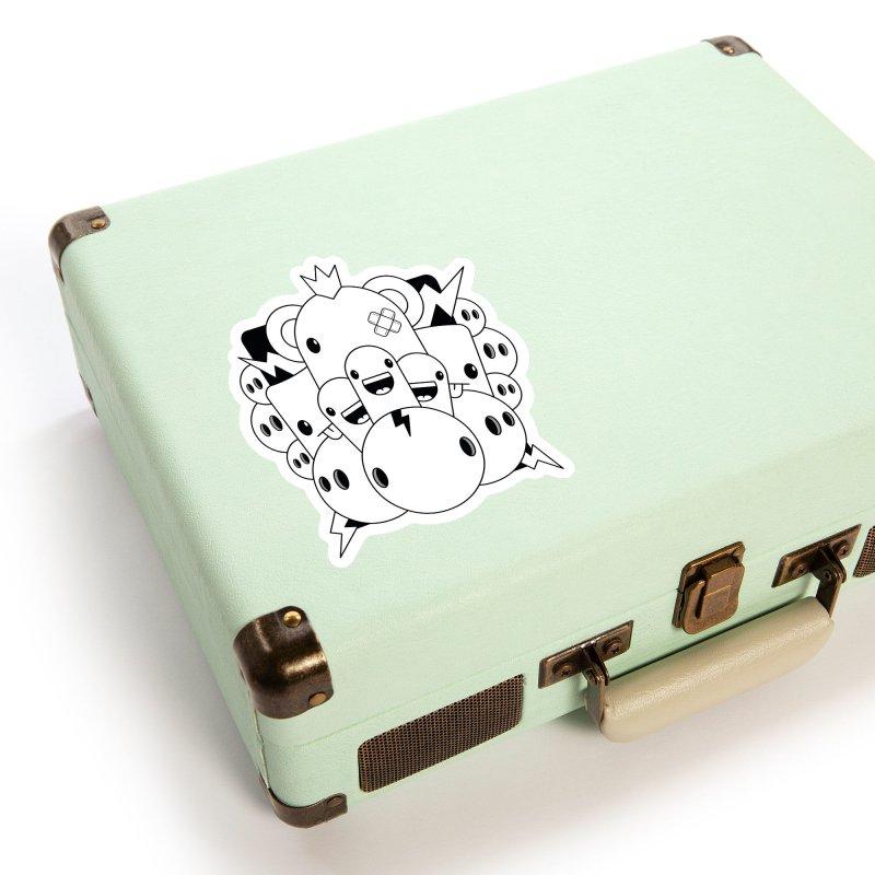 THE CRAZIES Accessories Sticker by NOMAKU