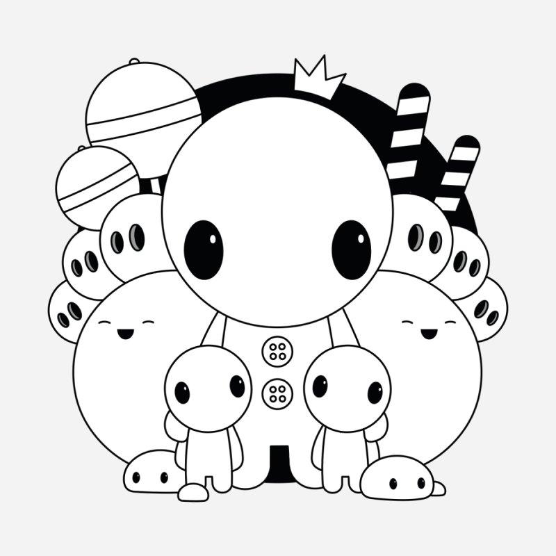 THE LITTLE ONES Men's T-Shirt by NOMAKU