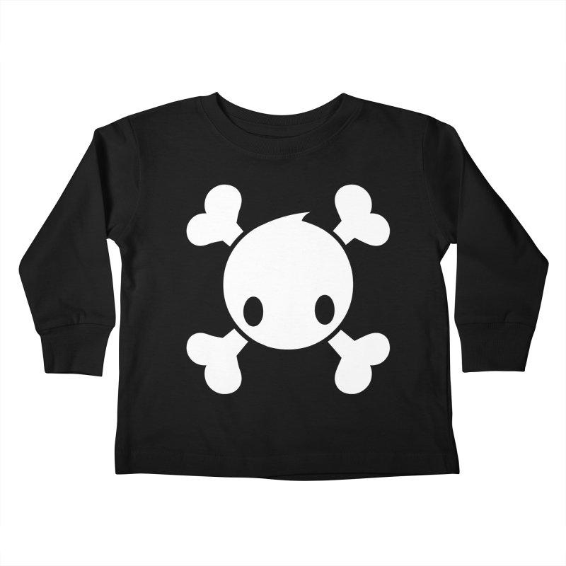 BONES Kids Toddler Longsleeve T-Shirt by NOMAKU