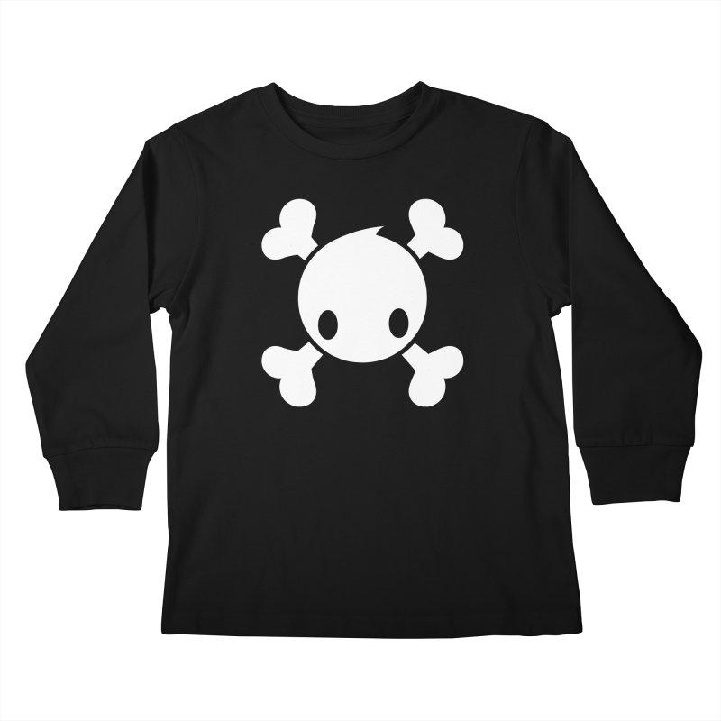 BONES Kids Longsleeve T-Shirt by NOMAKU