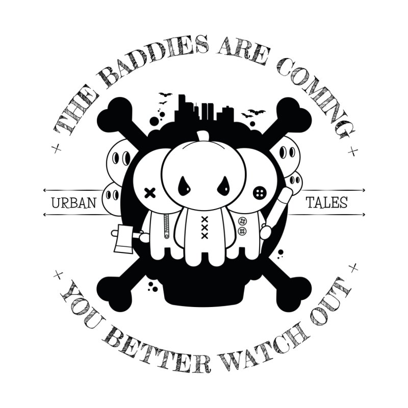 URBAN TALES: THE BADDIES ARE COMING Kids T-Shirt by NOMAKU