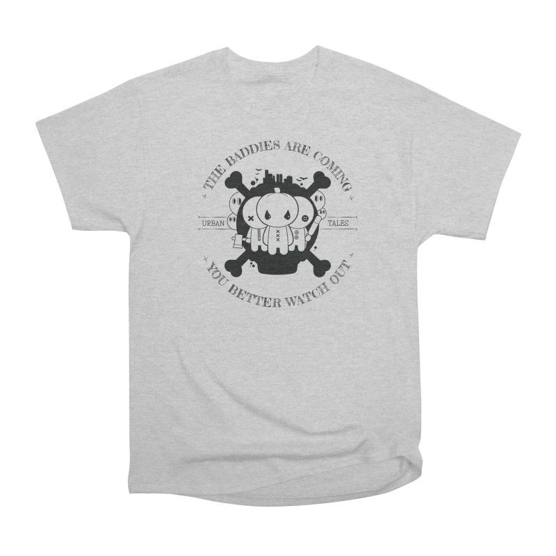 URBAN TALES: THE BADDIES ARE COMING Men's T-Shirt by NOMAKU