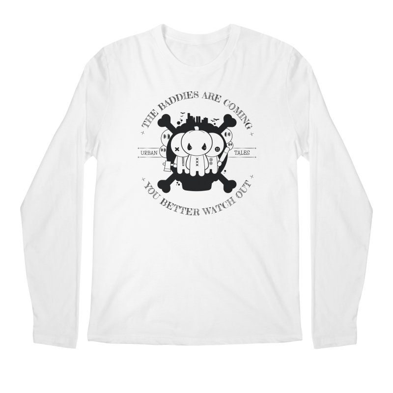 URBAN TALES: THE BADDIES ARE COMING Men's Longsleeve T-Shirt by NOMAKU