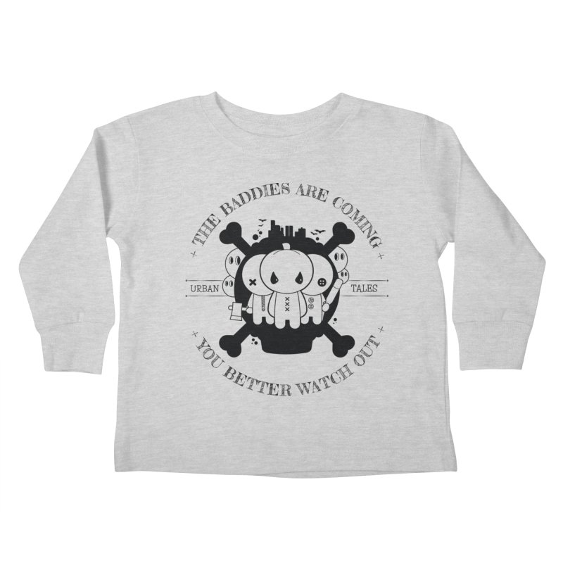 URBAN TALES: THE BADDIES ARE COMING Kids Toddler Longsleeve T-Shirt by NOMAKU