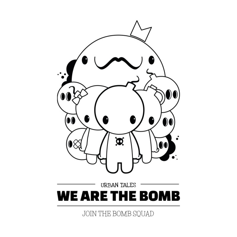 URBAN TALES: WE ARE THE BOMB Women's Tank by NOMAKU