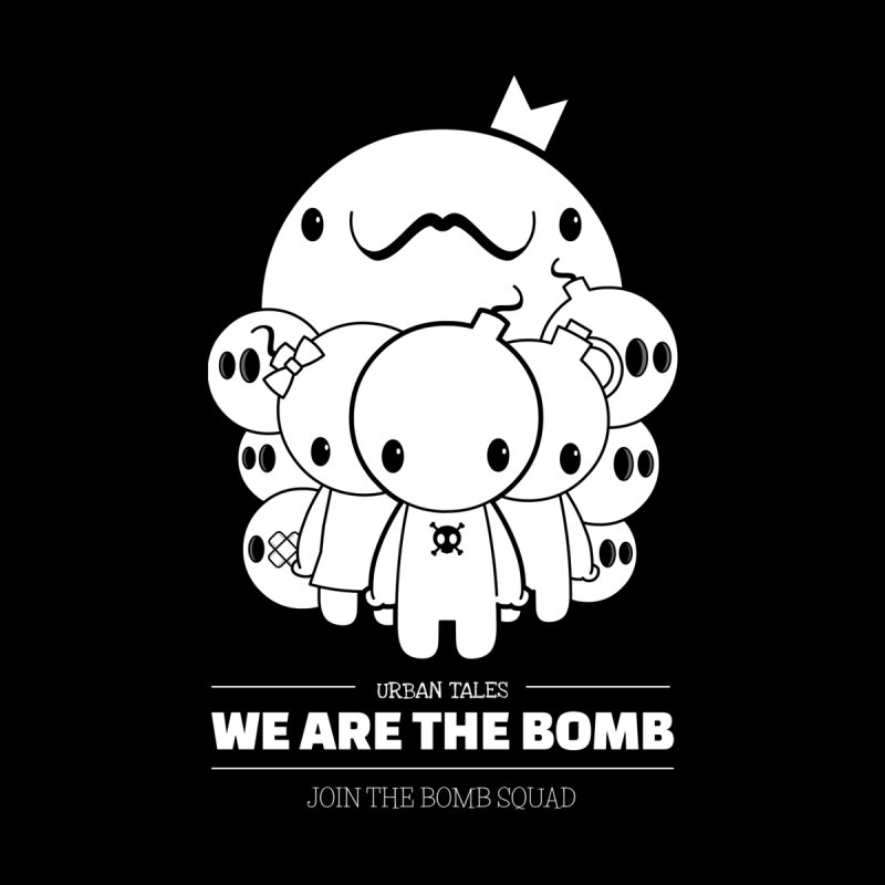 URBAN TALES: WE ARE THE BOMB Men's T-Shirt by NOMAKU