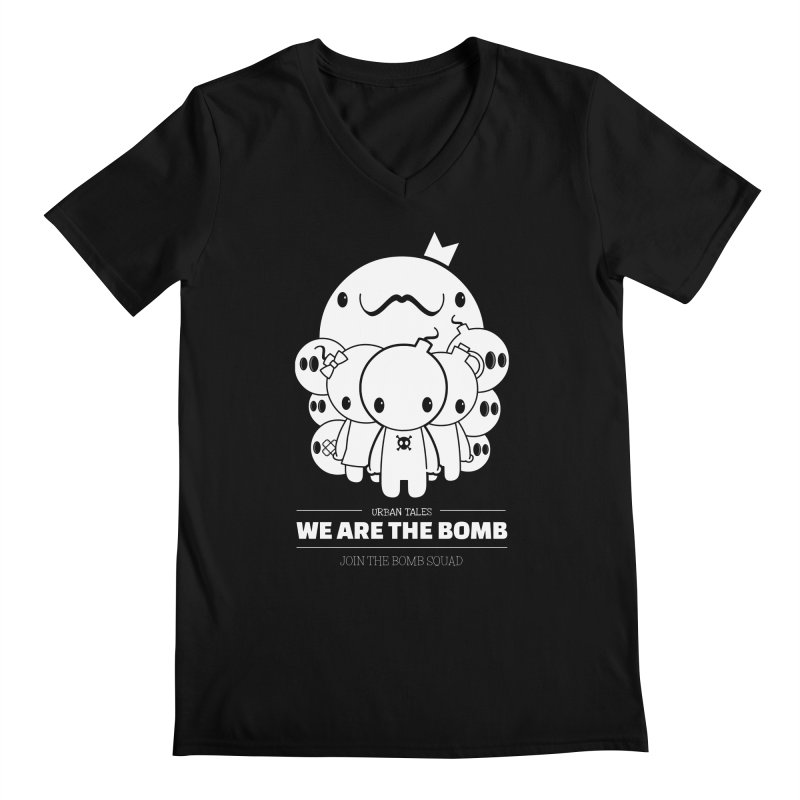 URBAN TALES: WE ARE THE BOMB Men's V-Neck by NOMAKU