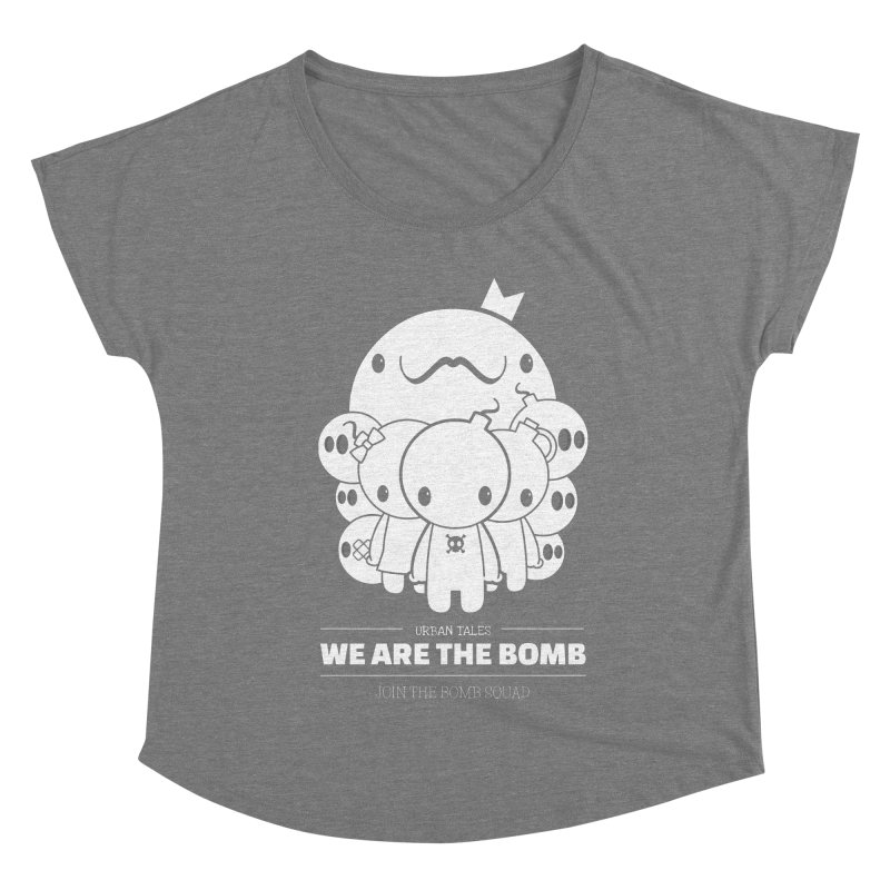 URBAN TALES: WE ARE THE BOMB Women's Scoop Neck by NOMAKU