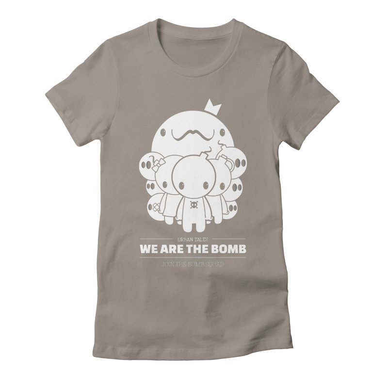 URBAN TALES: WE ARE THE BOMB Women's T-Shirt by NOMAKU