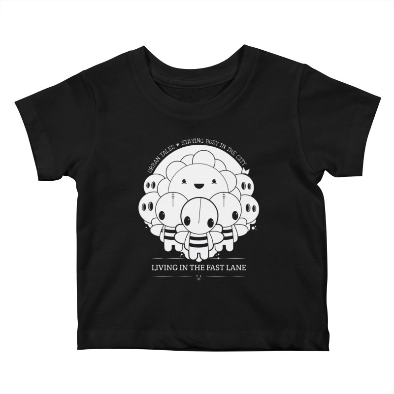 URBAN TALES: LIVING IN THE FAST LANE Kids Baby T-Shirt by NOMAKU