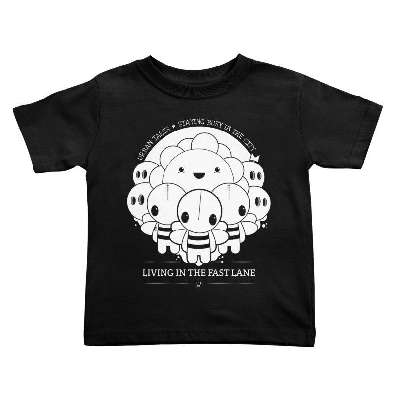 URBAN TALES: LIVING IN THE FAST LANE Kids Toddler T-Shirt by NOMAKU
