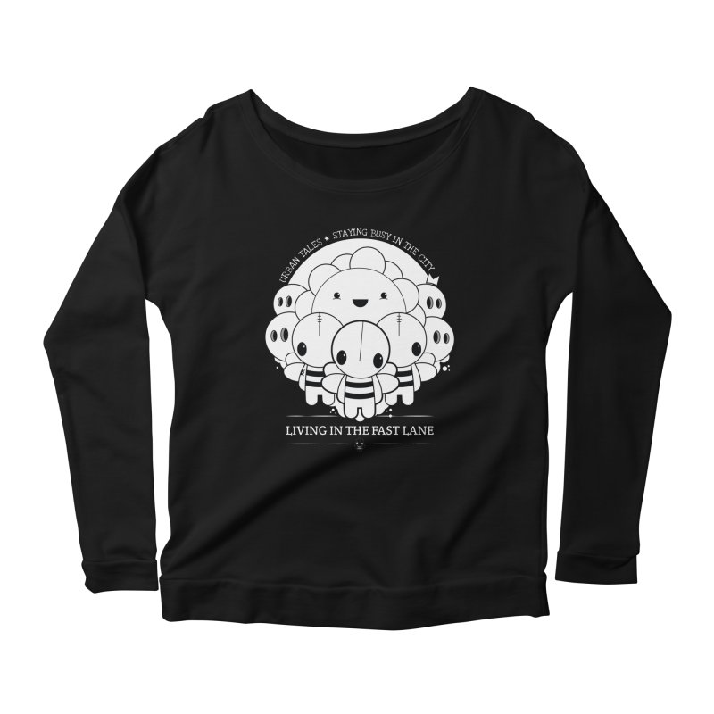 URBAN TALES: LIVING IN THE FAST LANE Women's Longsleeve T-Shirt by NOMAKU