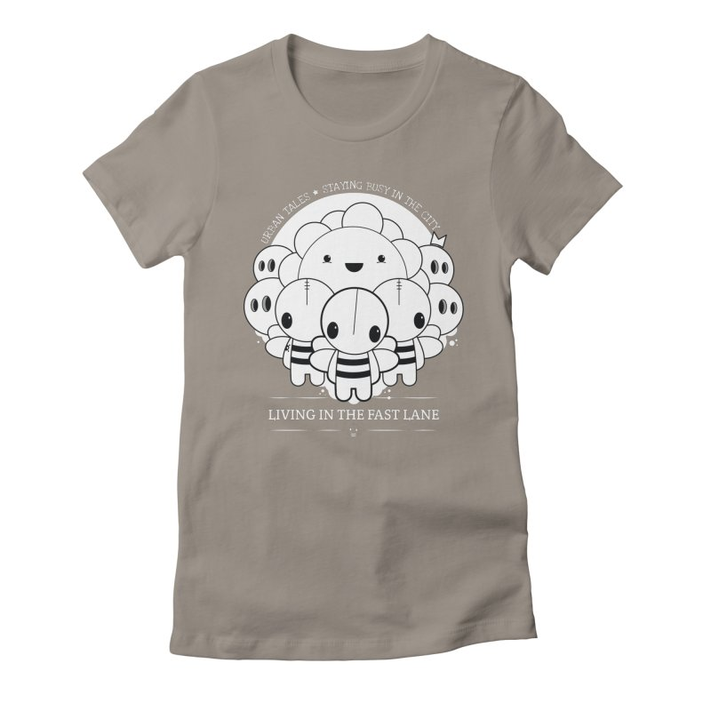 URBAN TALES: LIVING IN THE FAST LANE Women's T-Shirt by NOMAKU