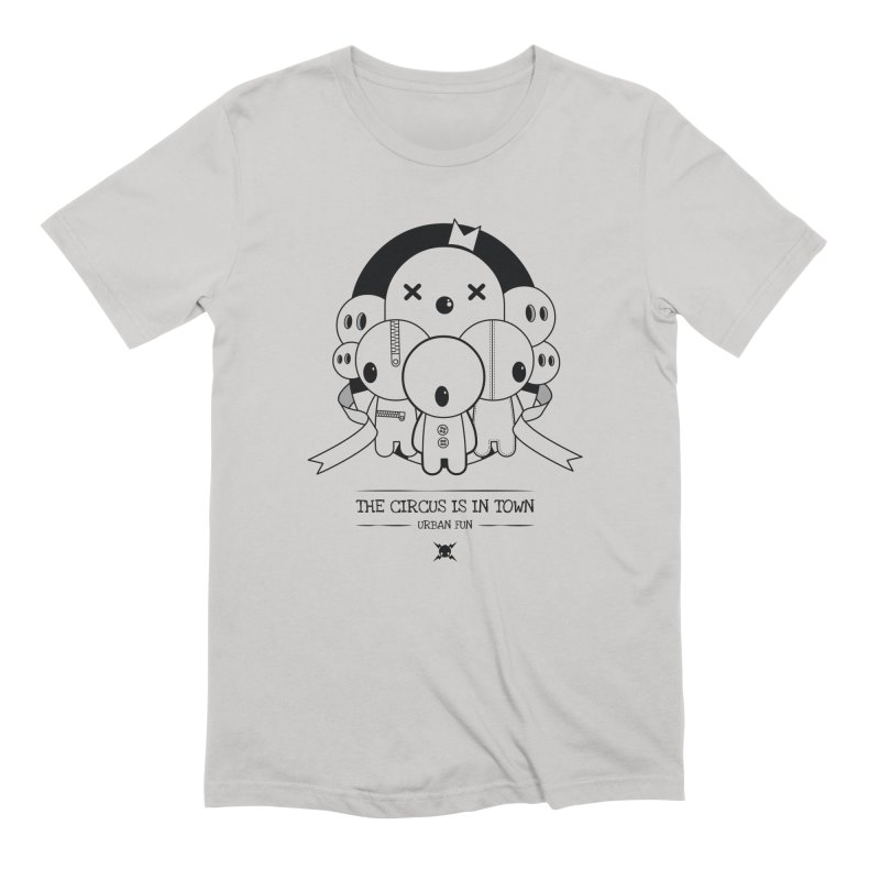 URBAN FUN: THE CIRCUS IS IN TOWN Men's T-Shirt by NOMAKU