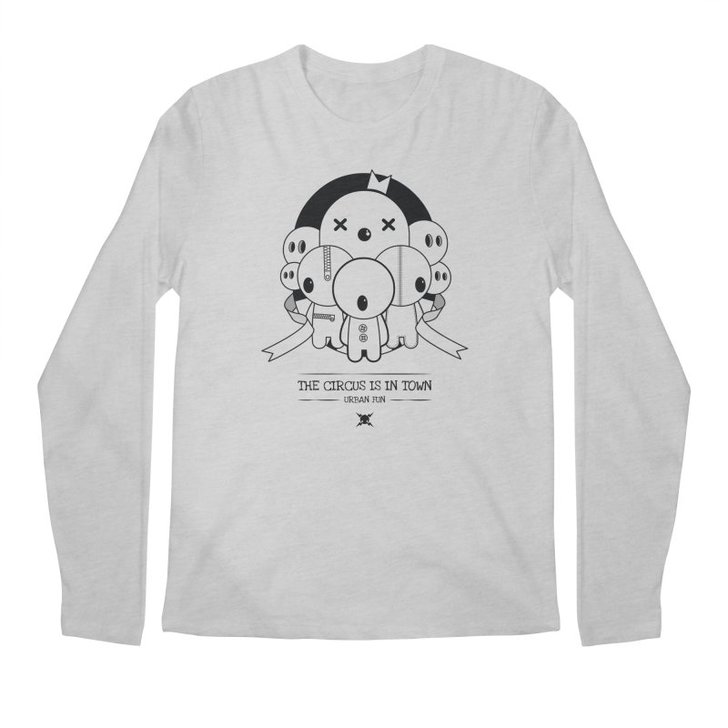 URBAN FUN: THE CIRCUS IS IN TOWN Men's Longsleeve T-Shirt by NOMAKU