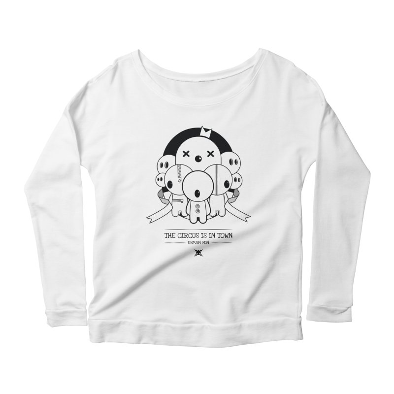 URBAN FUN: THE CIRCUS IS IN TOWN Women's Longsleeve T-Shirt by NOMAKU