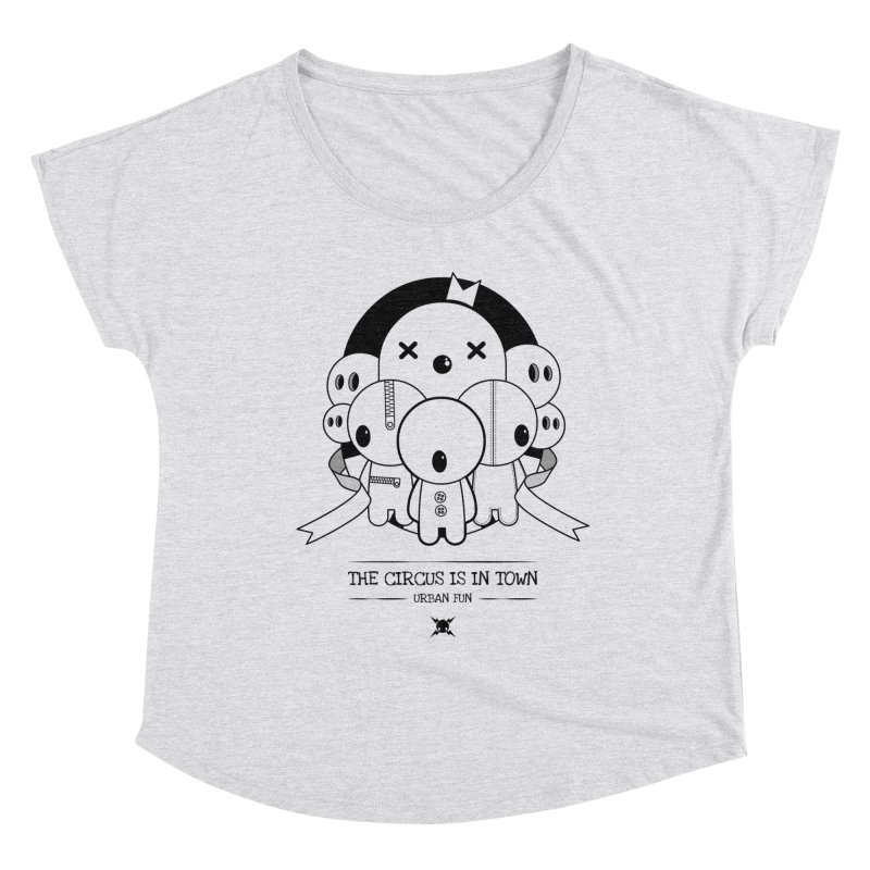 URBAN FUN: THE CIRCUS IS IN TOWN Women's Scoop Neck by NOMAKU