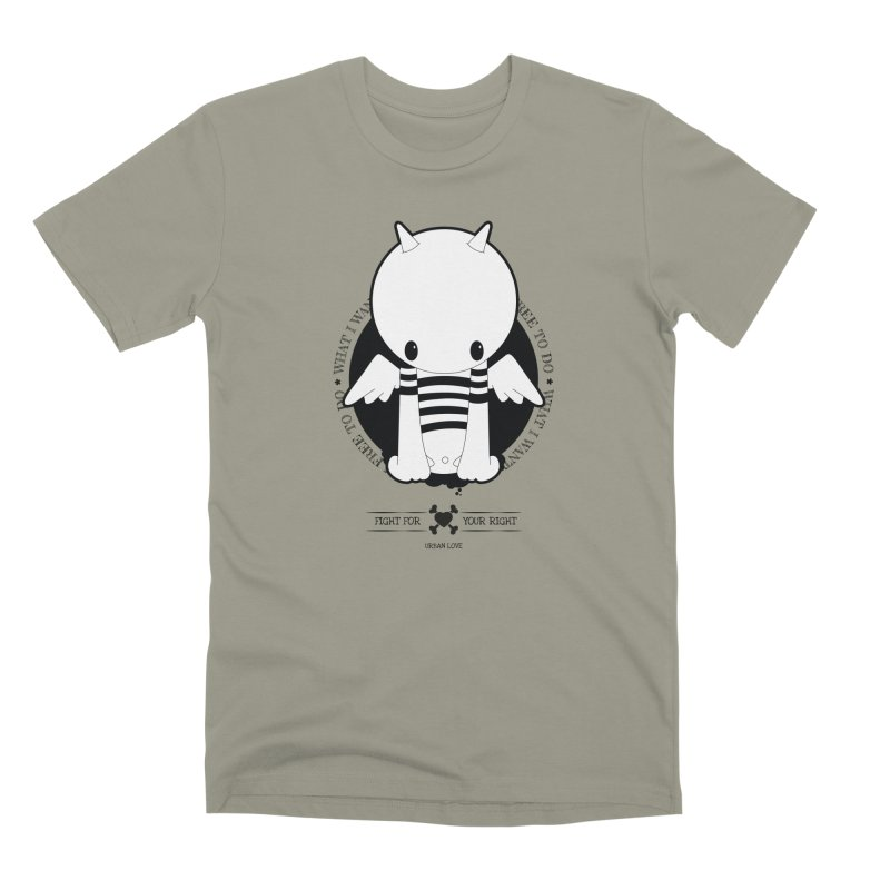 URBAN LOVE: FIGHT FOR YOUR RIGHT Men's T-Shirt by NOMAKU