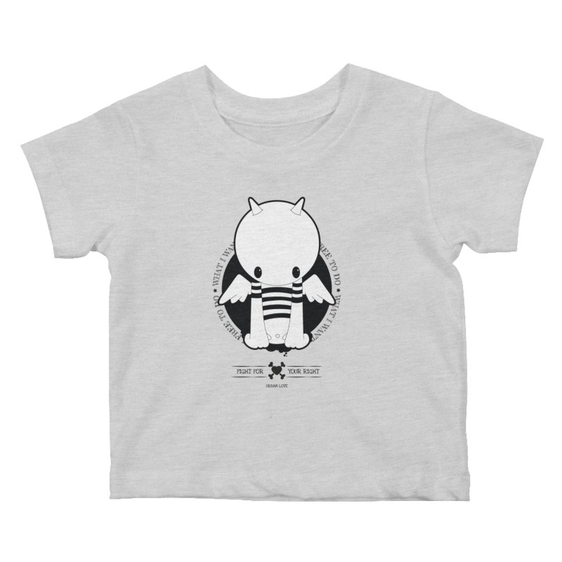 URBAN LOVE: FIGHT FOR YOUR RIGHT Kids Baby T-Shirt by NOMAKU