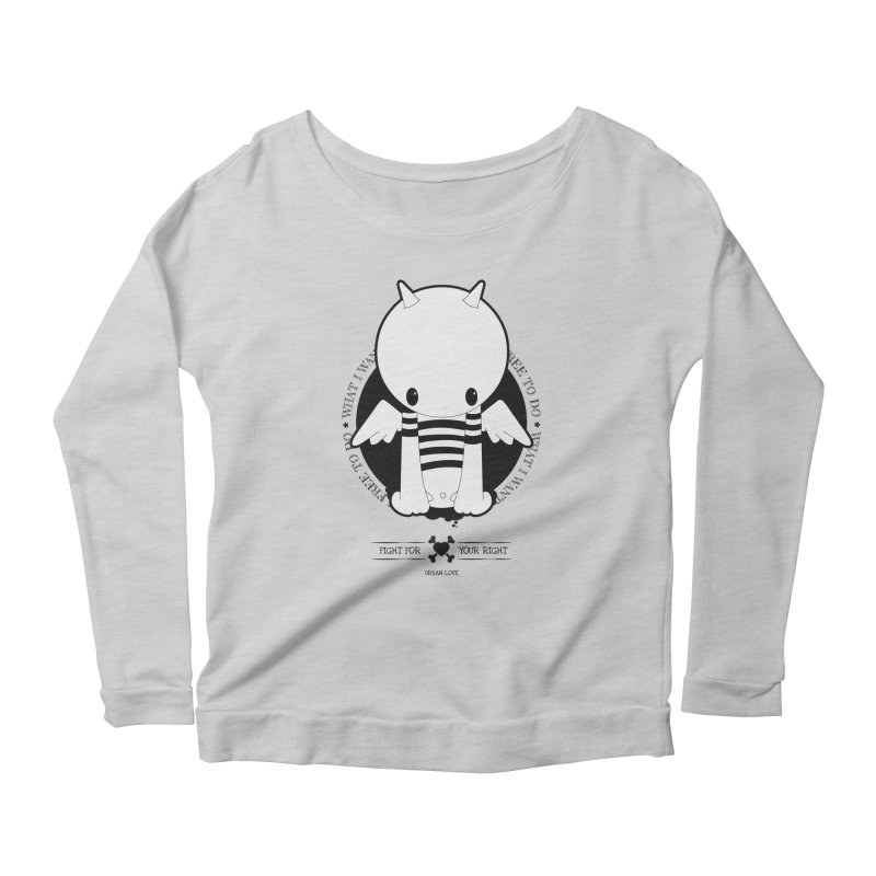 URBAN LOVE: FIGHT FOR YOUR RIGHT Women's Longsleeve T-Shirt by NOMAKU