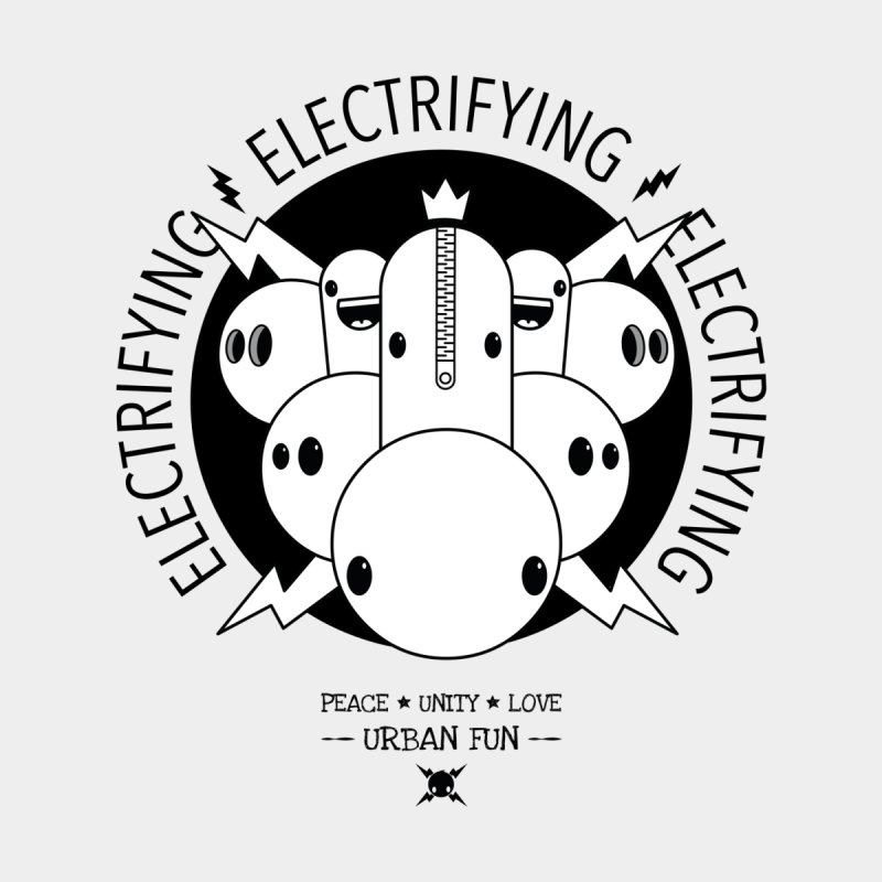 URBAN FUN: IT'S ELECTRIFYING Men's T-Shirt by NOMAKU