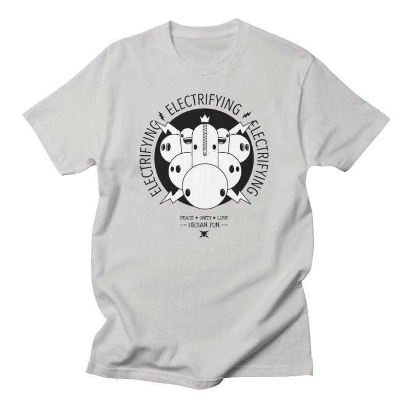 URBAN FUN: IT'S ELECTRIFYING Men's T-Shirt by NOMAKU