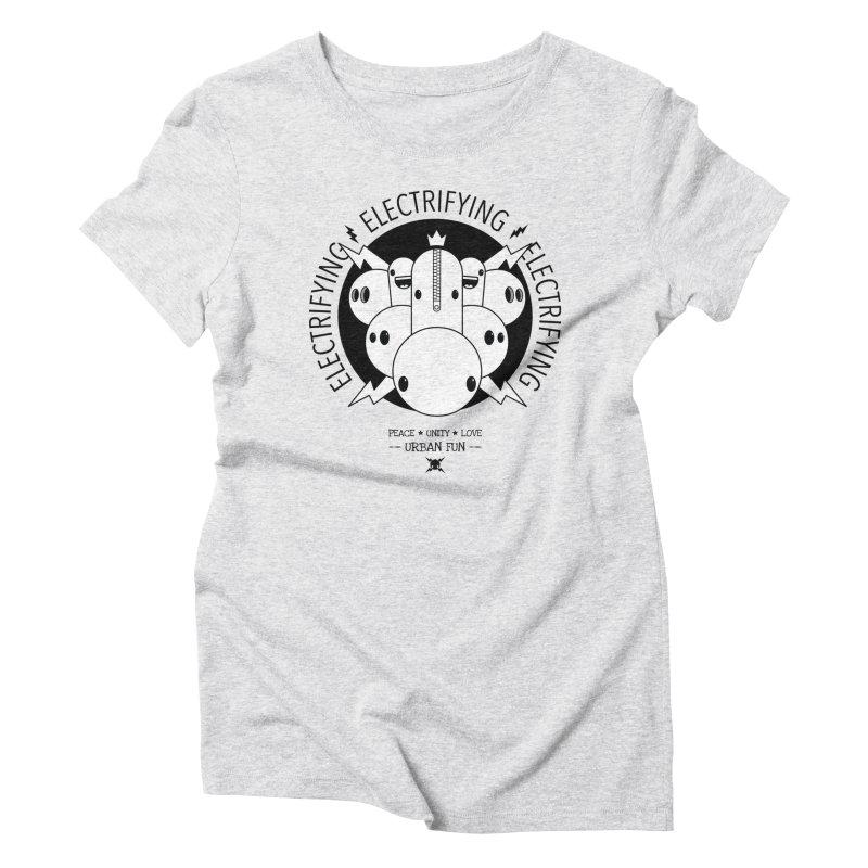 URBAN FUN: IT'S ELECTRIFYING Women's T-Shirt by NOMAKU