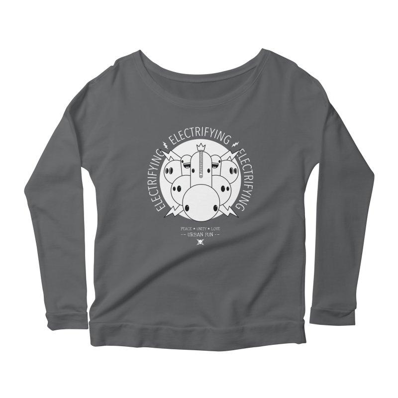 URBAN FUN: IT'S ELECTRIFYING Women's Longsleeve T-Shirt by NOMAKU
