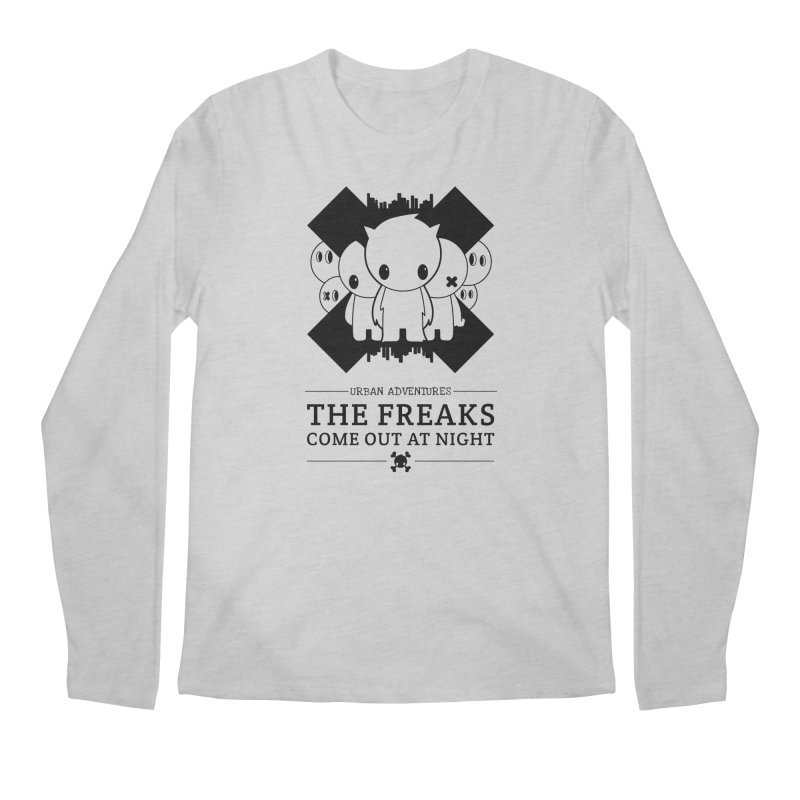 URBAN TALES: THE FREAKS COME OUT AT NIGHT Men's Longsleeve T-Shirt by NOMAKU