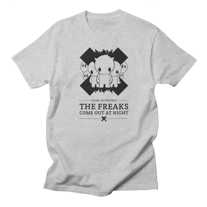 URBAN TALES: THE FREAKS COME OUT AT NIGHT Men's T-Shirt by NOMAKU