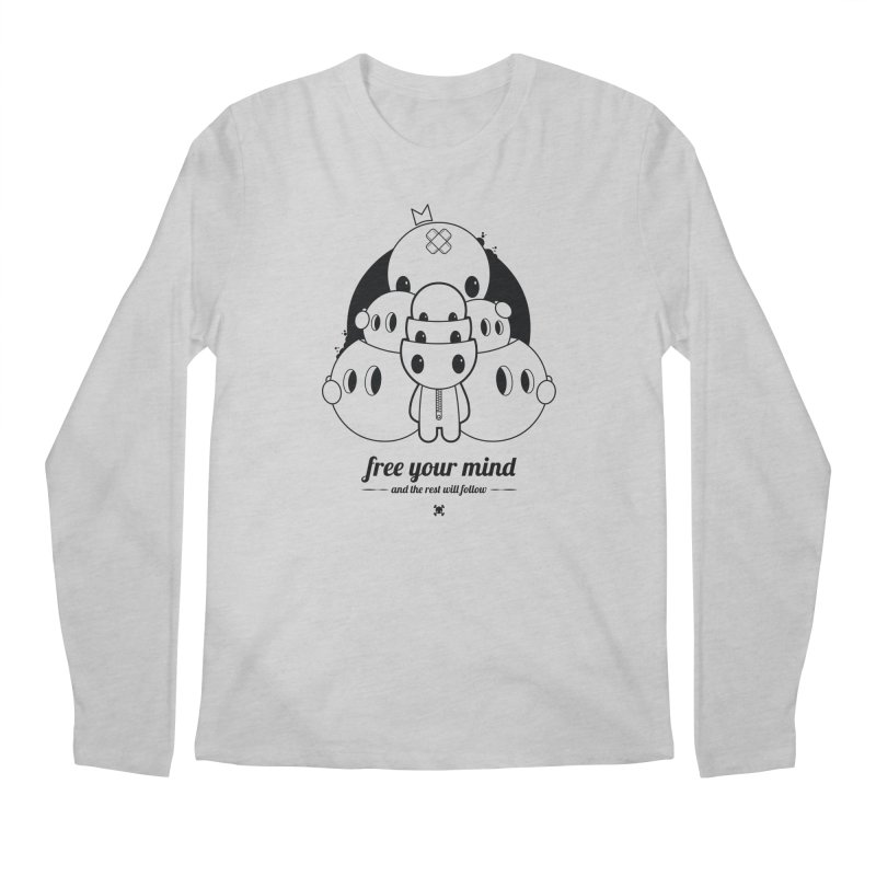 URBAN TALES: FREE YOUR MIND Men's Longsleeve T-Shirt by NOMAKU