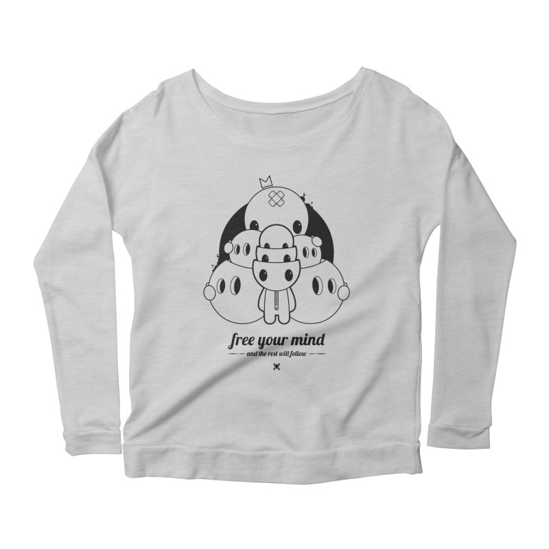 URBAN TALES: FREE YOUR MIND Women's Longsleeve T-Shirt by NOMAKU