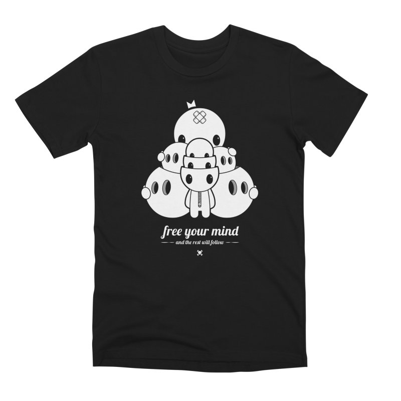 URBAN TALES: FREE YOUR MIND Men's T-Shirt by NOMAKU