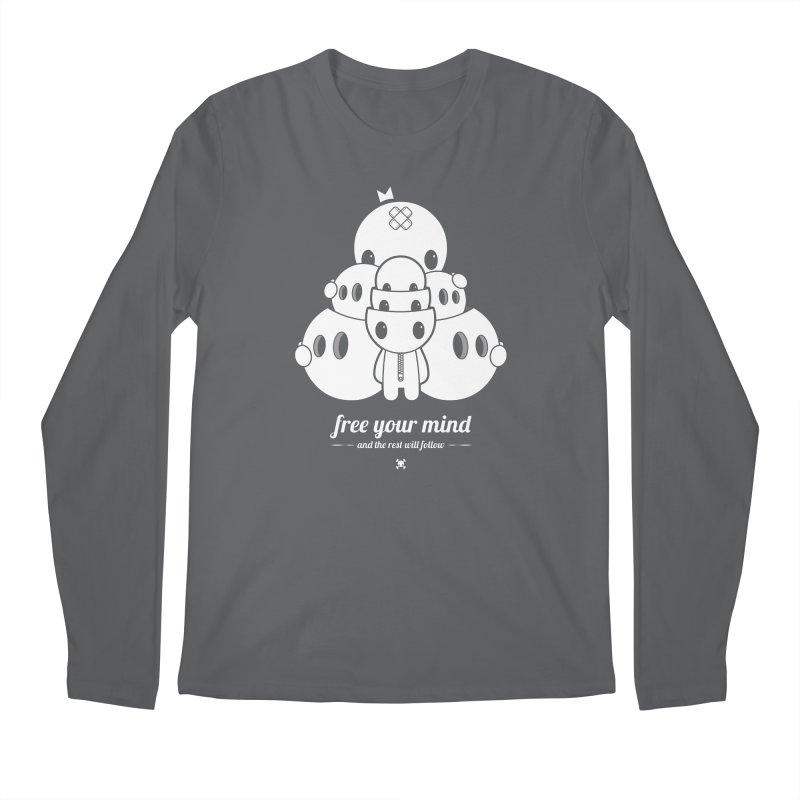 URBAN TALES: FREE YOUR MIND Men's Longsleeve T-Shirt by NOMAKU