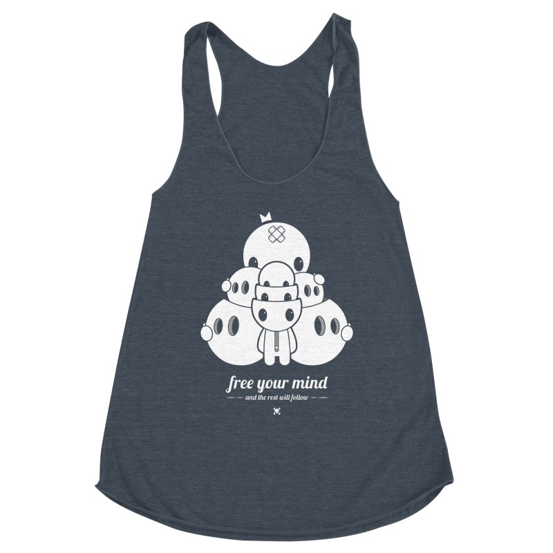URBAN TALES: FREE YOUR MIND Women's Tank by NOMAKU