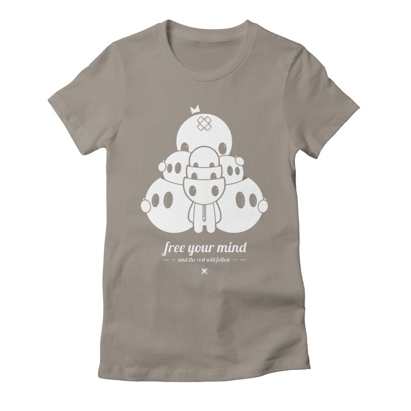 URBAN TALES: FREE YOUR MIND Women's T-Shirt by NOMAKU