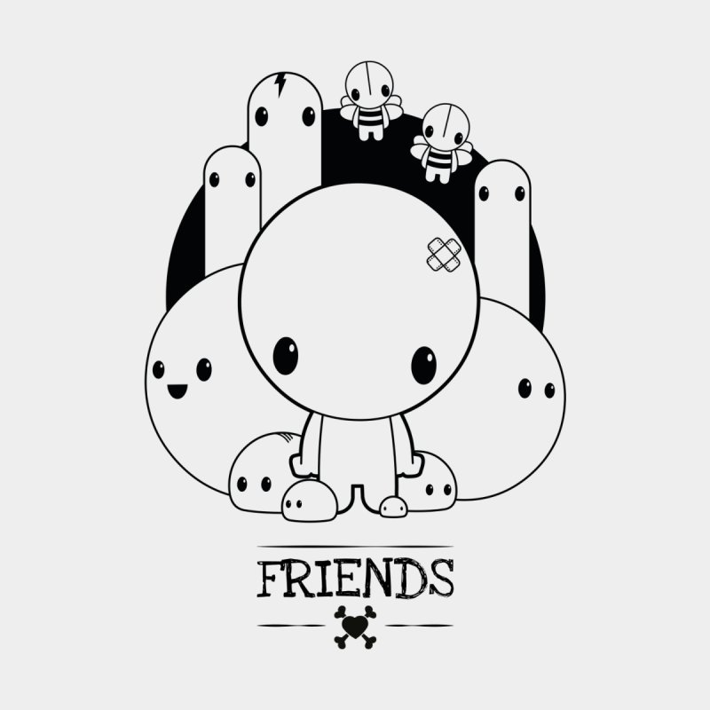 URBAN LOVE: FRIENDS Kids T-Shirt by NOMAKU