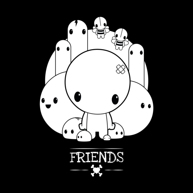 URBAN LOVE: FRIENDS Men's T-Shirt by NOMAKU