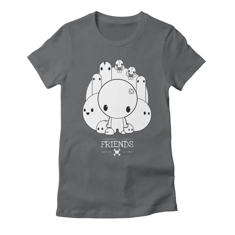 URBAN LOVE: FRIENDS Women's T-Shirt by NOMAKU