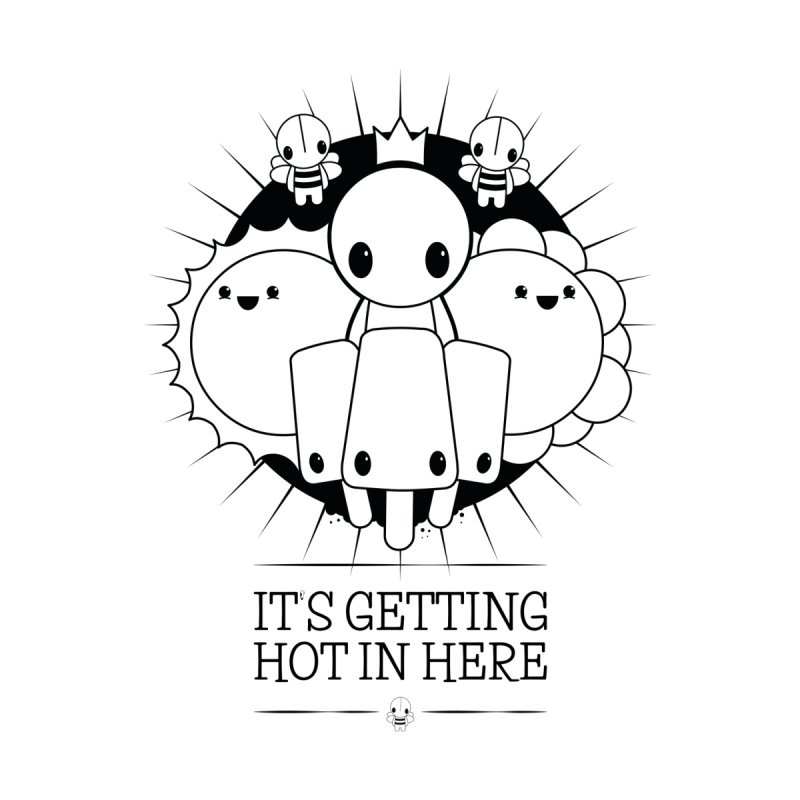 URBAN TALES: IT'S GETTING HOT IN HERE Kids T-Shirt by NOMAKU